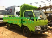 Karoseri Bak Besi Drop Side Light Truck