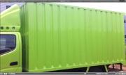 Karoseri Box Besi Light Truck Hino Dutro 110 SDL Panjang 4 Meter