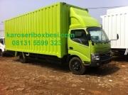 Karoseri box besi Hino Dutro 130 MDL